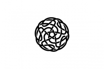 Abstract Knot Logo