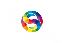 Colorful Letter S...