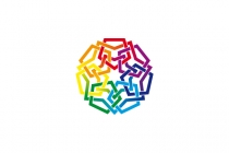 Colorful Unity Logo