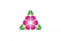 Flower Triangle Logo