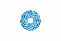 Wave Rope Knot Logo