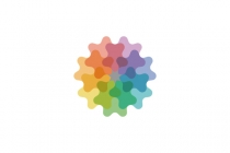 Colorful Loofah Logo