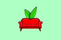 Apple Couch Logo