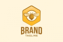 Bee Flying Logo