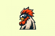 Cool Rooster Logo