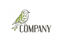 Bird Leaf Logo