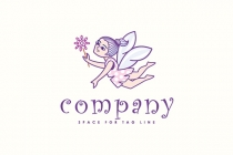 Little Fairy Logo
