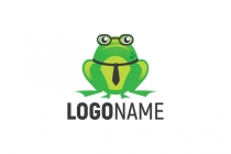 Business Frog Logo
