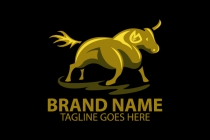 Golden Bull Logo