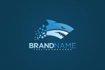 Shark Logo Abstract
