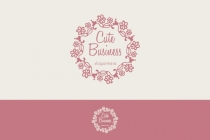 Floral Wreath Logo
