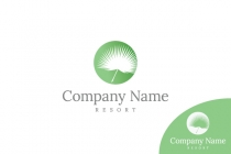 Palm Leaf Logo