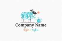 Wool Sheep Logo