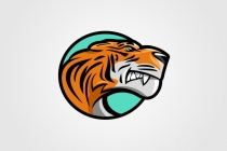 Cartoon Tiger Logo