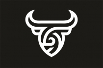 Abstract Bull Logo