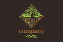 PNG Logo: Diamond Tree And...