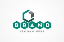 Abstract Hexagon Logo
