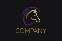 Graceful Horse Logo