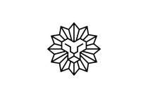Gemstone Lion Logo