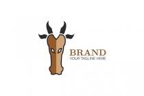Long Bull Head Logo