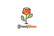 Floral Drinks Logo
