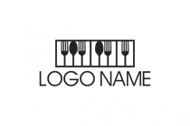 Musical Food Logo