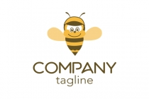 Bee And Hat Logo