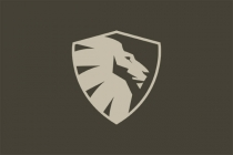 Shield Lion Logo