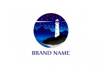 Stars Lighthouse Logo