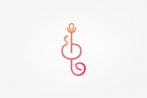 Colorful Music Note...