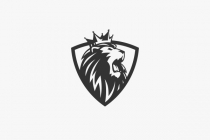 Lion Roar Shield Logo