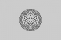 Roman Lion Head Logo