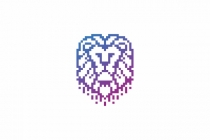 Digital Pixel Lion...