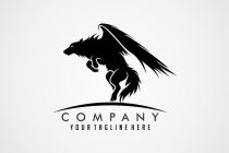 Flying Wolf Logo