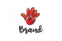 Friends Hand Logo