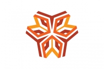 Orange Geometry Logo