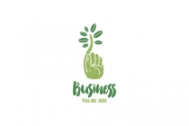 Green Finger Logo