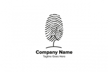 Fingerprint Tree Logo