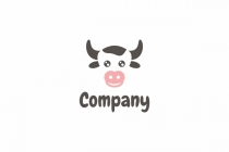 Cute Cow Logo