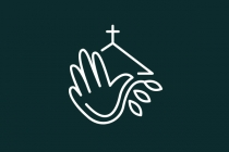Dove Hand Church Logo