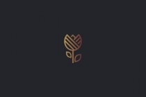 Simple Tulip Logo
