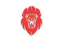 Lion Head Roar Logo