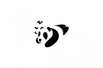 Sleeping Panda Logo