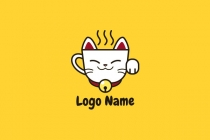 Lucky Cat Coffee Logo