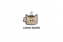 Cat Coffee Logo