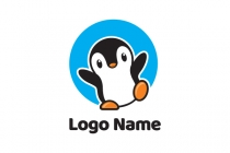 Happy Penguin Logo