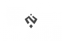N Shield Glyph Logo