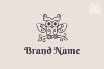 Beautiful Owl Logo