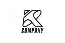Letter K Arrow Logo