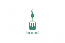 Green Candle Logo